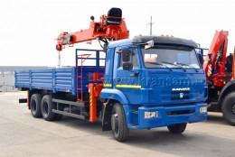 КАМАЗ 65117 с КМУ KANGLIM KS1256G-II