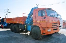 КАМАЗ 43118 с КМУ Инман ИМ-150
