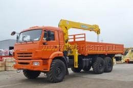 КАМАЗ 43118 с КМУ Soosan SCS736L-II