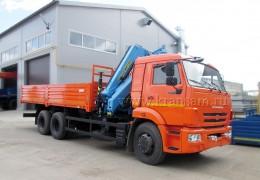 КАМАЗ 65115 с КМУ Инман ИМ-180