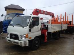 Hyundai HD78 с КМУ UNIC URV-373