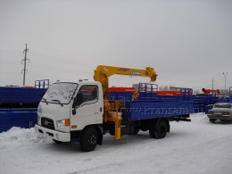 Hyundai HD78 с КМУ Soosan SCS333