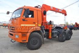 Камаз 53504 с КМУ Kanglim KS1256G-II ССУ