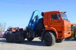 Камаз 53504 с КМУ Инман ИМ-150 ССУ
