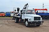 ГАЗ 3309 с Автогидроподъемник