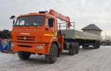 Седельный тягач КАМАЗ-43118 с КМУ Kanglim KS1256G-II цена [city()] | КАМАЗ-43118 с кран-манипулятором Kanglim KS1256G-I цена [city()] | Завод СПМ