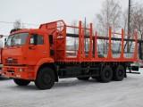 Сортиментовоз на базе КАМАЗ-6520
