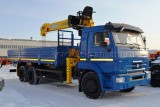 КАМАЗ-65117 (6×4) с КМУ (Модель 732348/732457 Fiskran)