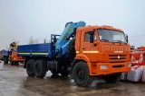 КАМАЗ-43118 (6х6) с КМУ (Модель 732327/732406 Fiskran)