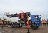 КАМАЗ 43118 с  Автогидроподъемник Hansin HS4570