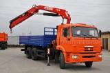 КАМАЗ-65115 (6х4) с КМУ