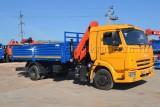 КАМАЗ-4308 (4×2) с КМУ (Модель 732322 Fiskran)