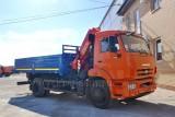КАМАЗ-43253 (4×2) с КМУ (Модель 732334 Fiskran)