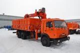 Автомобиль самосвал КАМАЗ-53229 с КМУ