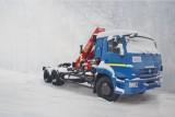 Седельный тягач КАМАЗ-65115 с КМУ (Модель 732315 Fiskran)