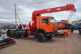 Седельный тягач КАМАЗ-65111 с КМУ