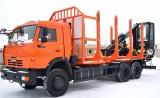 Сортиментовоз на базе КАМАЗ-65115